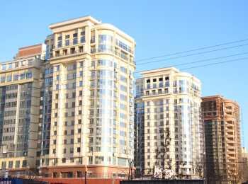 Панорама застройки жилого комплекса